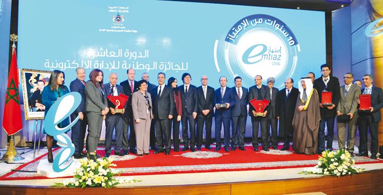 Dixième édition  du Prix national de l'administration électronique : Et les gagnants sont ….