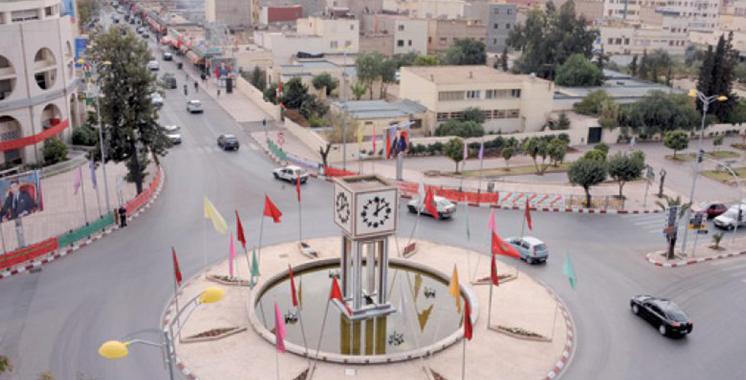 Khouribga : Plus de 1,19 MMDH pour la réalisation de projets structurants et de développement