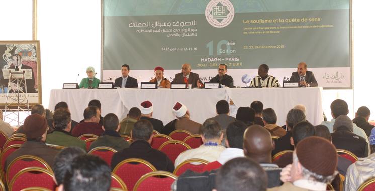 Rencontre mondiale du soufisme à Madagh