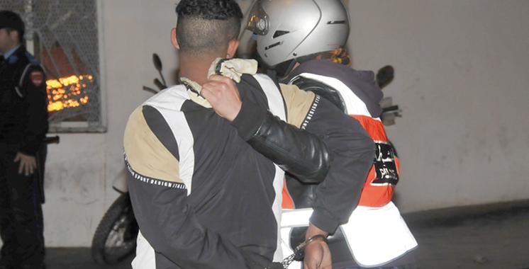 Tanger: Arrestation d'un individu pour vol avec violence et viol
