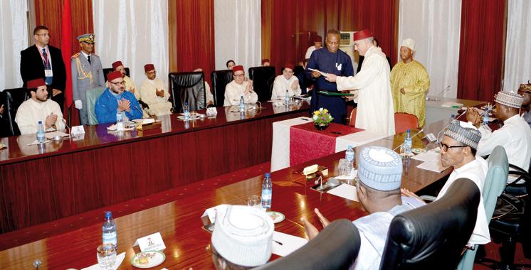 Les deux pays ont annoncé le lancement du projet: Le gazoduc Maroc-Nigeria reliera toute l'Afrique de l'Ouest