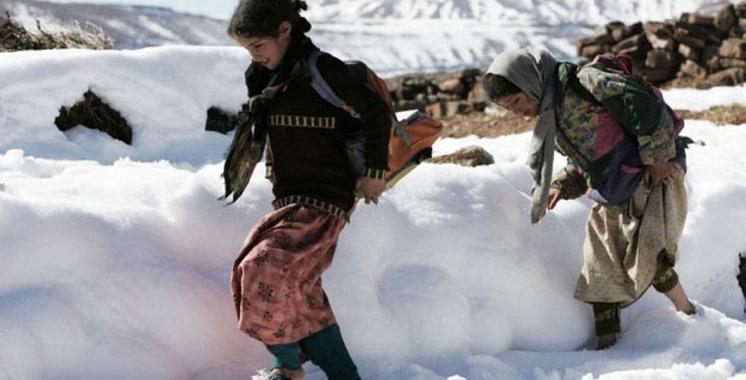Maroc: 900 écoles fermées à cause du mauvais temps