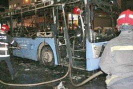 C'est le troisième qui prend feu à Casablanca en moins  d'un mois: Les bus de «l'enfer»