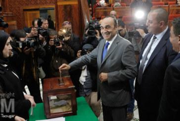 Habib El Malki au perchoir… évidemment