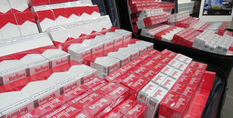 Tiznit: Saisie de près de 1,8 million de cigarettes de contrebande