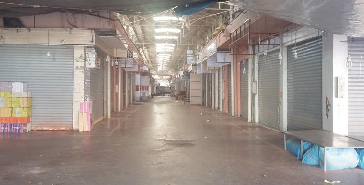 Agadir : Grève générale de deux jours au souk Al Had et aux restaurants de la ville