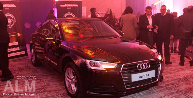 Voiture de l'année: Audi A4 vole la vedette