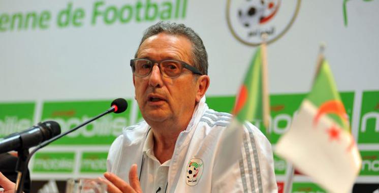 CAN-2017 : le sélectionneur de l'Algérie démissionne
