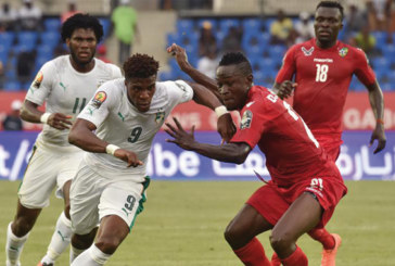 CAN-2017 : la Côte d'Ivoire tenue en échec par le Togo