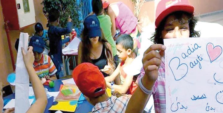 Exposition collective solidaire avec les enfants en situation difficile