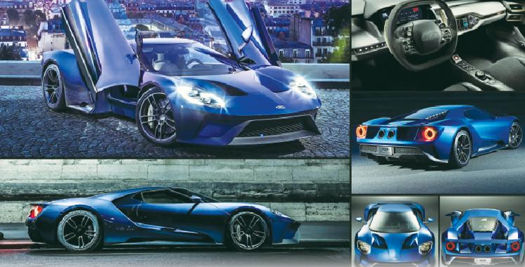 Ford GT: La supercar se dote d'un tableau de bord futuriste