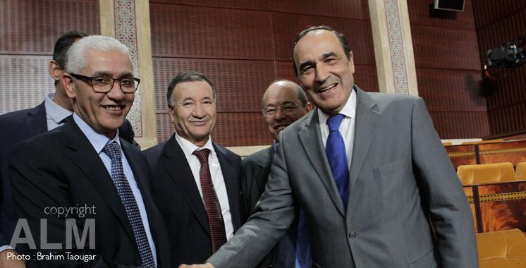 Cinq partis ont voté pour El Malki