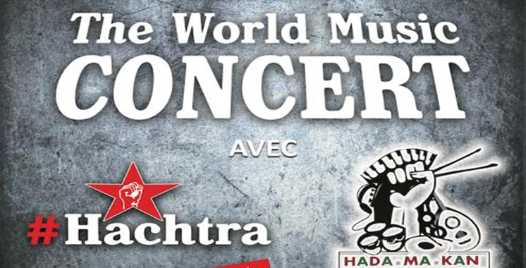 Concert World Music à Casablanca