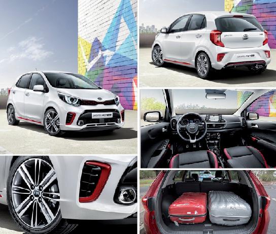 Kia Picanto Gt Line Hatchback: Kia Picanto GT Line: Un Best-seller Qui Fait Peau Neuve