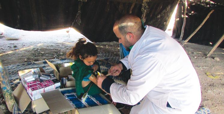 Midelt : Campagne médicale au profit des nomades de Sidi Ayyad
