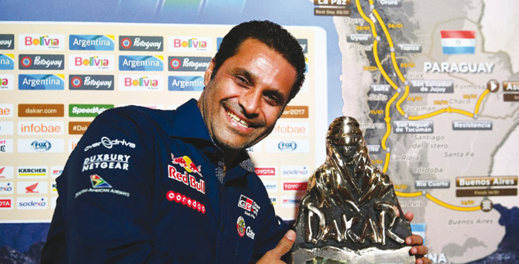 Dakar-2017: Nasser Al Attiyah remporte la première spéciale en auto