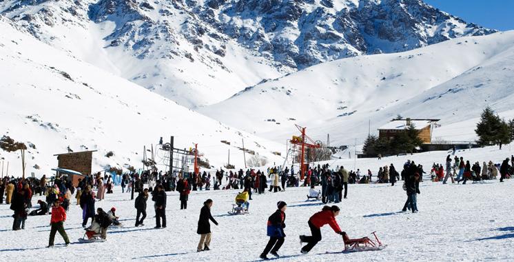 Ski : La Coupe des premières neiges organisée à la station de l'Oukaimeden