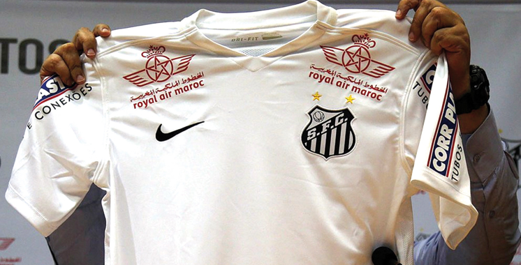 Royal Air Maroc, l'un des sponsors du club brésilien: Le Santos FC affrontera le KAC en match amical le 29 janvier à Sao Paulo