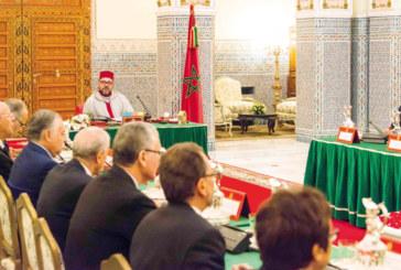 SM le Roi préside à Marrakech un Conseil des ministres: Le Maroc adopte l'acte constitutif de l'Union africaine