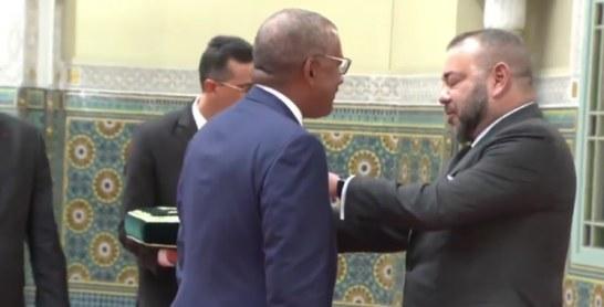 Vidéo : SM le Roi reçoit l'ambassadeur des Etats-Unis Dwight L.Bush