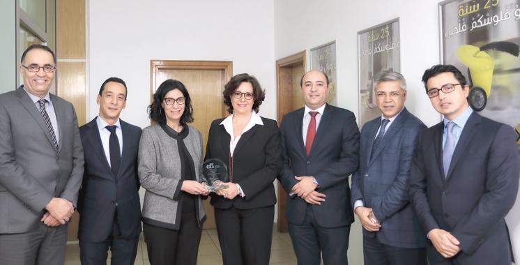 Distinction: «Best Money Transfer Services Morocco 2016» décerné à Wafacash