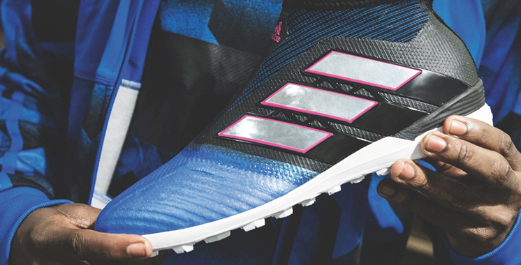 Adidas Football présente la collection Blue Blast