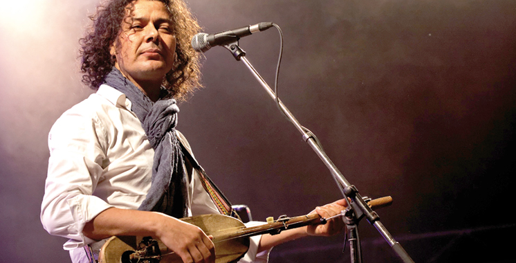 Concert de Aziz Sahmaoui à l'Uzine de Casablanca