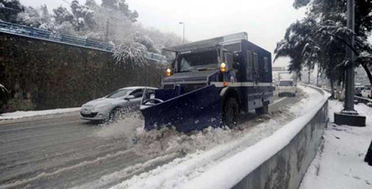 Taza: Ouverture de plusieurs routes fermées à cause de la neige