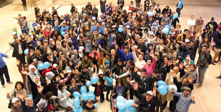 Le collectif autisme Maroc dément tout lien avec la marche bleue