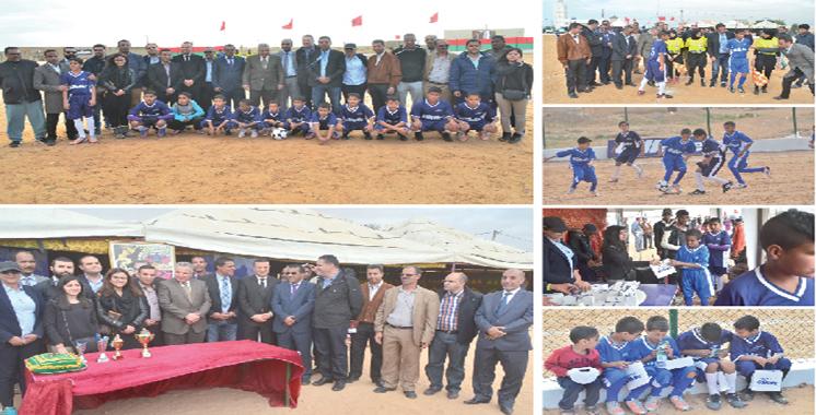 Gillette rapproche les jeunes du Sahara marocain du football