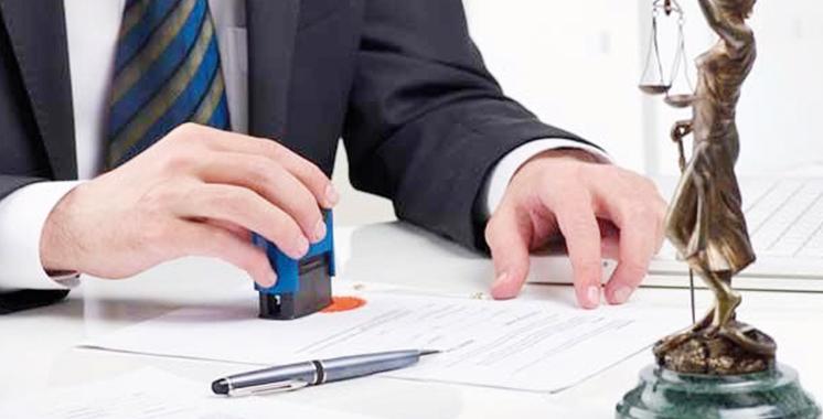 Notariat : La tutelle dévoile la liste des nouveaux admis à la profession
