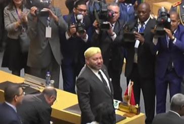 Vidéo : standing ovation pour le Roi Mohammed VI au sommet africain