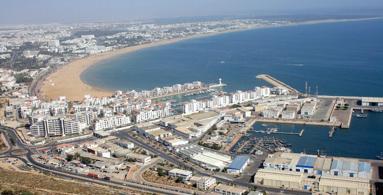 Une étude pour la transformation numérique d'Agadir
