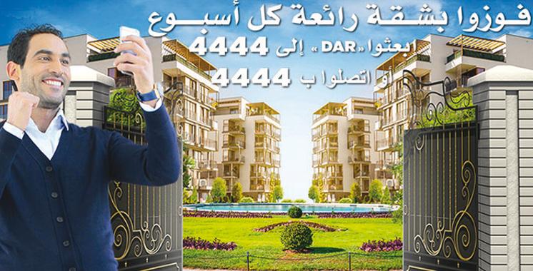 La grande tombolase glisse dans une nouvelle peau: Maroc Telecom offre des appartements de luxe