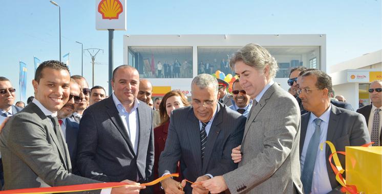 La plus grande station-service Shell du Maroc inaugurée à Jorf Lasfar