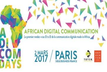 African Digital Communication Days :  Plus de 250 participants se rassemblent à Paris