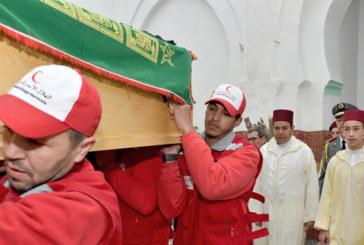 Marrakech : les Obsèques de Feu M'hamed Boucetta (vidéo)