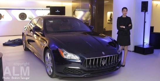 Maserati: La Quattroporte s'offre un nouveau relooking