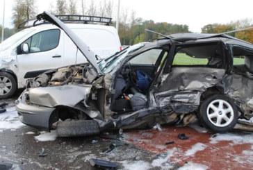 Accidents de la circulation: 20 morts et 1.943 blessés en une semaine