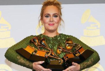 Musique : Adele rafle les récompenses aux Grammy Awards