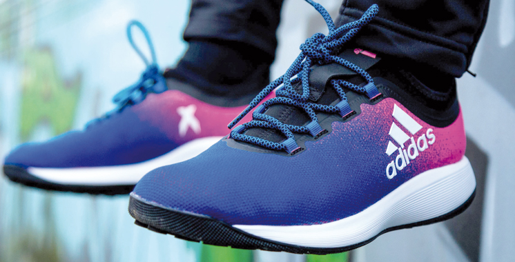 Adidas : X16, nouvelle venue dans la collection Blue Blast