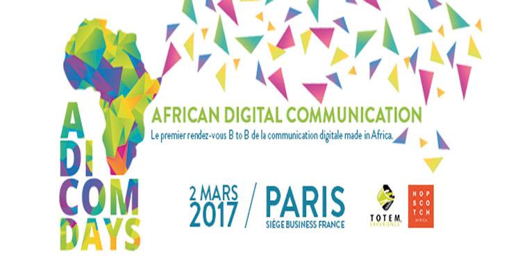 African Digital Communication Days :  Plus de 250 participants se rassemblent à Paris