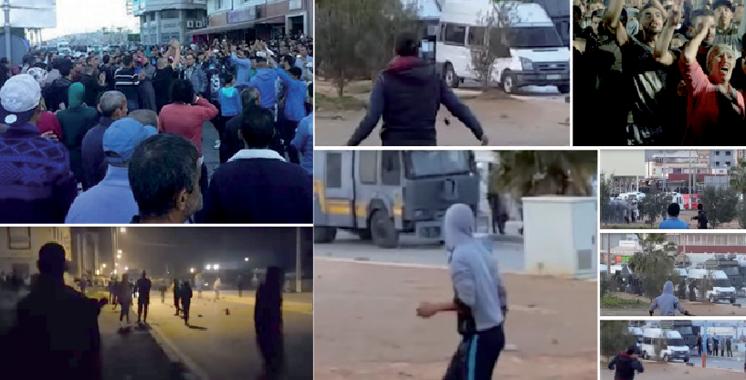 Al-Hoceima : 27 éléments des forces de l'ordre blessés