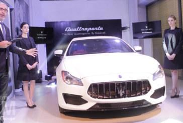 Automobile : Maserati lance sa nouvelle berline Quattroporte