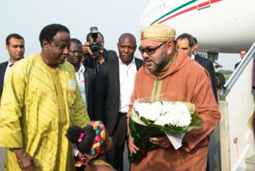 Arrivée de SM le Roi à Accra pour une visite officielle en République du Ghana (vidéo)