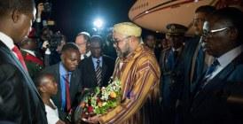 Arrivée de SM le Roi à Lusaka pour une visite officielle en République de Zambie (Vidéo)
