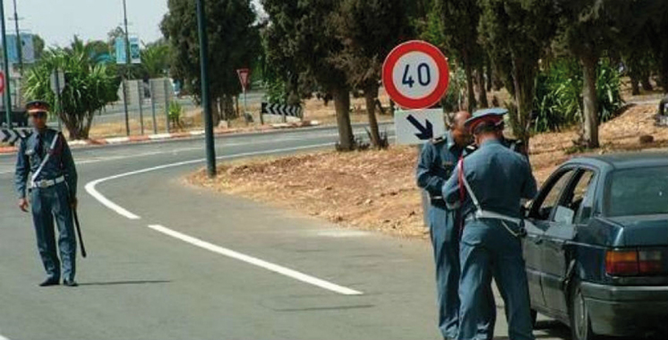 Démantèlement par la gendarmerie royale d'un réseau spécialisé dans le trafic international de voitures de luxe