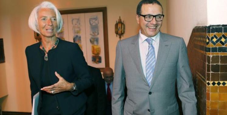 Boussaid et Lagarde à Dubaï pour le 2è Forum des finances publiques dans les Etats arabes