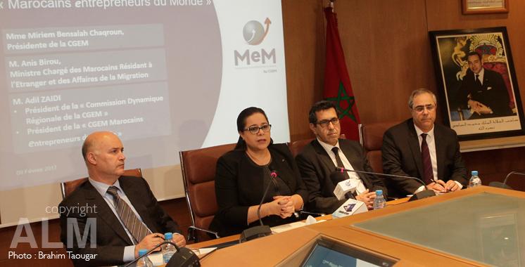 La CGEM et le ministère créent une région virtuelle dédiée aux MRE