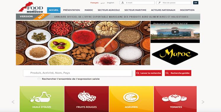 «www.foodfrommorocco.ma»  sera lancé de Berlin